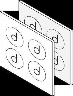 electroformed step 1